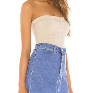 Free People You Too Tube Top In Sand Combo Revolve